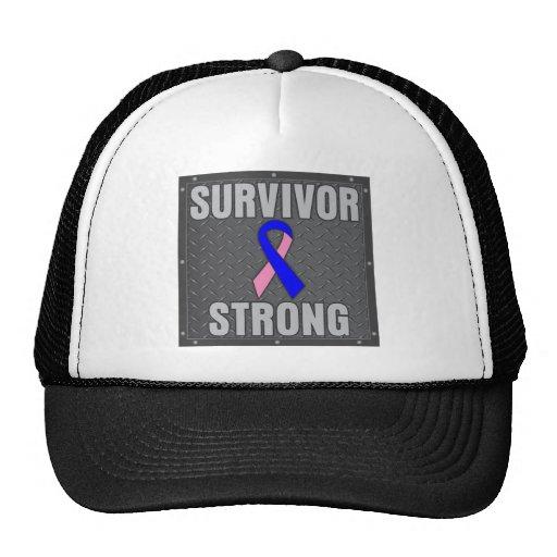 Male Breast Cancer Survivor Strong Hat