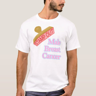 Male Breast Cancer T-Shirt