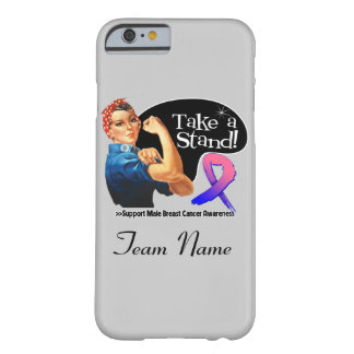 Male Breast Cancer Take a Stand iPhone 6 Case
