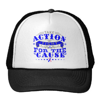 Male Breast Cancer Take Action Fight For The Cause Trucker Hat