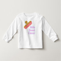 Male Breast Cancer Toddler T-shirt