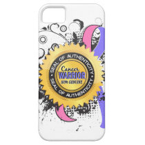 Male Breast Cancer Warrior 23 iPhone SE/5/5s Case