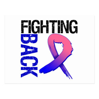 Male Breat Cancer Fighting Back Postcards