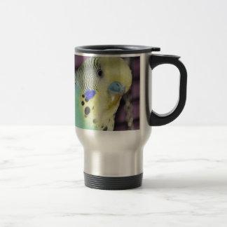 Male Budgie/ Parakeet Travel Mug