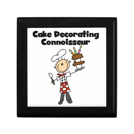 Male Cake Decorating Connoisseur Keepsake Boxes
