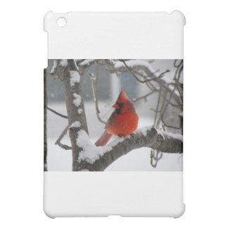 Male Cardinal iPad Mini Covers