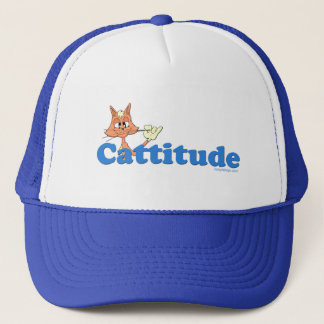 Male Cattitude Trucker Hat