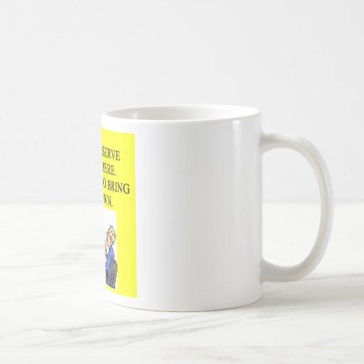 male chauninist pig bar joke mug