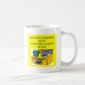 male chauvinist pig joke mugs