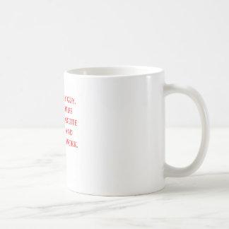 male chauvinist pig classic white coffee mug