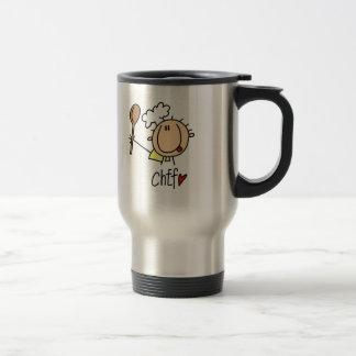 Male Chef Coffee Mugs