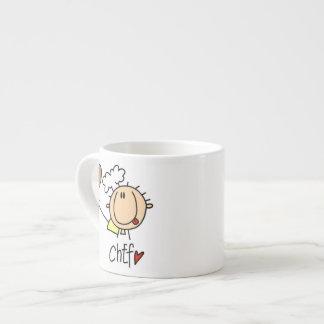 Male Chef Espresso Mug