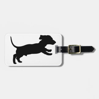 MALE DACHSUND PUPPY TAGS FOR LUGGAGE