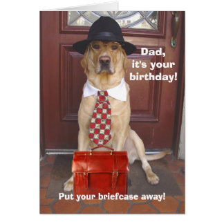 Male/Dad Birthday Greeting Card