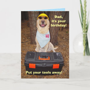 Male Dad Funny Birthday Card