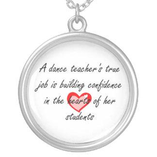 Male Dance Teacher - Building Confidence Custom Necklace