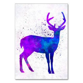 Male deer 01 in watercolor