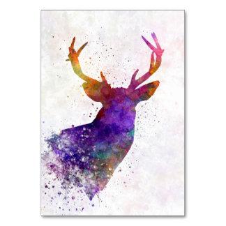 Male Deer 03 in watercolor