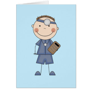 Male Doctor T-shirts and Gifts Greeting Cards