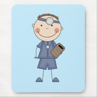 Male Doctor T-shirts and Gifts Mouse Pad
