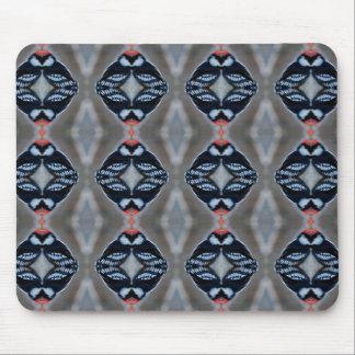 Male Downy Woodpecker Pattern Mouse Pad
