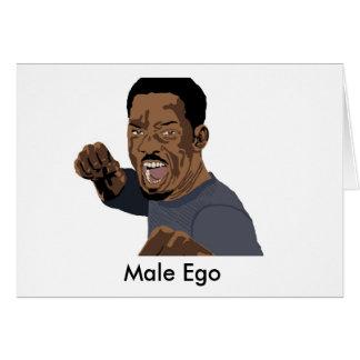 Male Ego Greeting Card