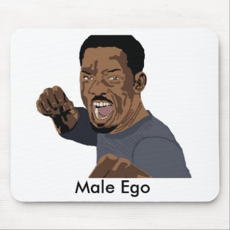 Male Ego Mouse Pad