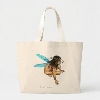 male faerie large tote bag
