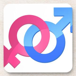 Male & Female Coaster
