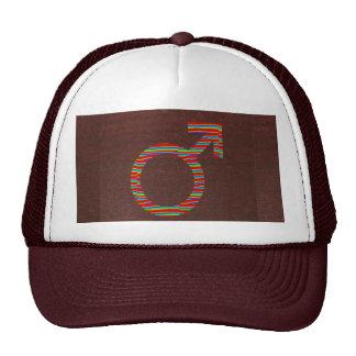MALE Female GENDER Symbols: Dark Brown FASHION Trucker Hat