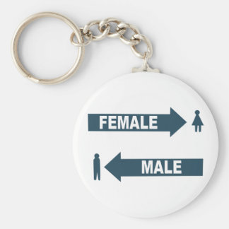 Male Female Keychain