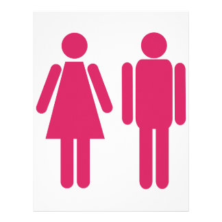 Male & Female Letterhead
