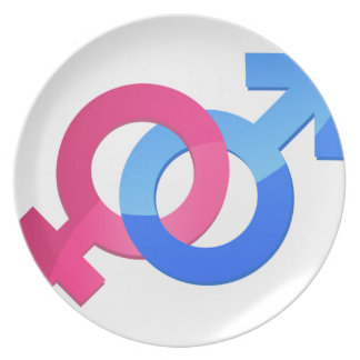 Male & Female Plate