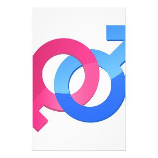 Male & Female Stationery