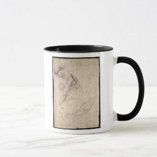 Male figure study mug