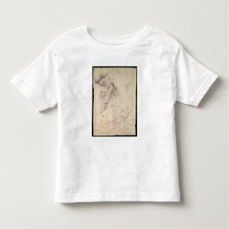 Male figure study toddler t-shirt