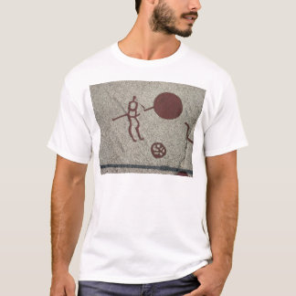 Male figure with the sun T-Shirt