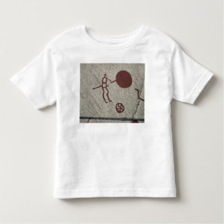 Male figure with the sun toddler t-shirt