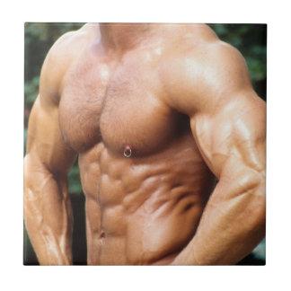 Male Fitness Model Tile