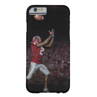 Male football player catching football barely there iPhone 6 case