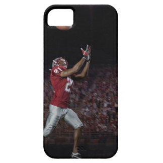 Male football player catching football iPhone 5 cover