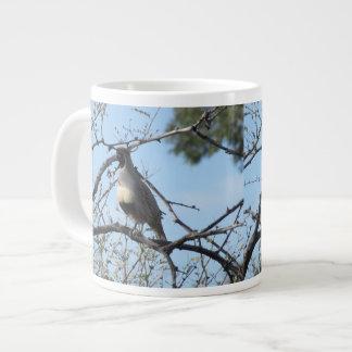 Male Gambel's Quail 20 Oz Large Ceramic Coffee Mug