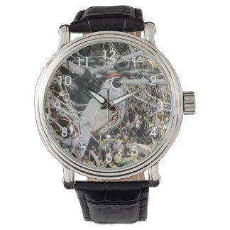 Male Gambel's Quail Wristwatch