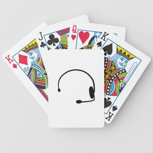 Male Gamer Bicycle Card Decks