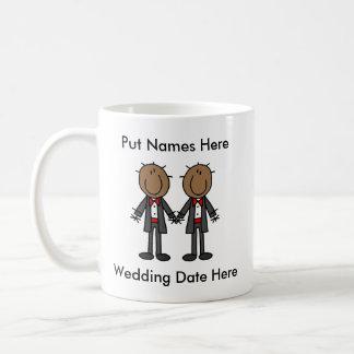 Male Gay Wedding To Customize Coffee Mug