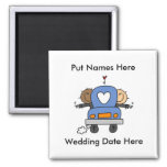 Male Gay Wedding To Customize Magnet