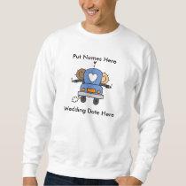 Male Gay Wedding To Customize Sweatshirt