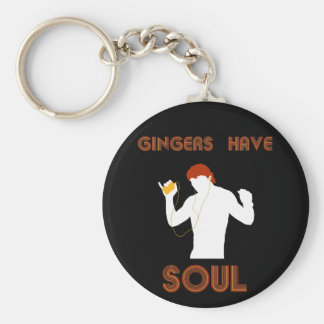Male Gingers Have Soul Basic Round Button Keychain
