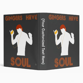Male Gingers Have Soul 3 Ring Binder
