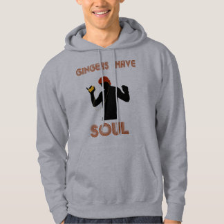 Male Gingers Have Soul Hoodie